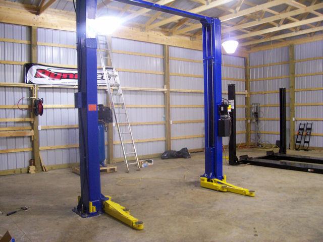 Auto Lift Truck Car Scissor 2 Post 4 Vehicle